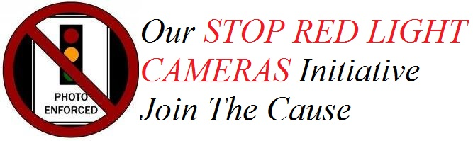 Join our Stop Red Light Cameras Initiative!